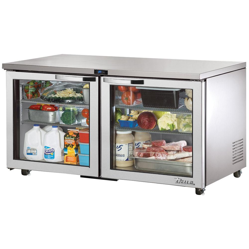 True TUC-60G-ADA-HC~SPEC1 15.5-cu ft Undercounter Refrigerator w/ (2) Sections & (2) Doors, 115v