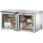 True TUC-60G-LP-HC~SPEC1 15.5-cu ft Undercounter Refrigerator w/ (2) Sections & (2) Doors, 115v
