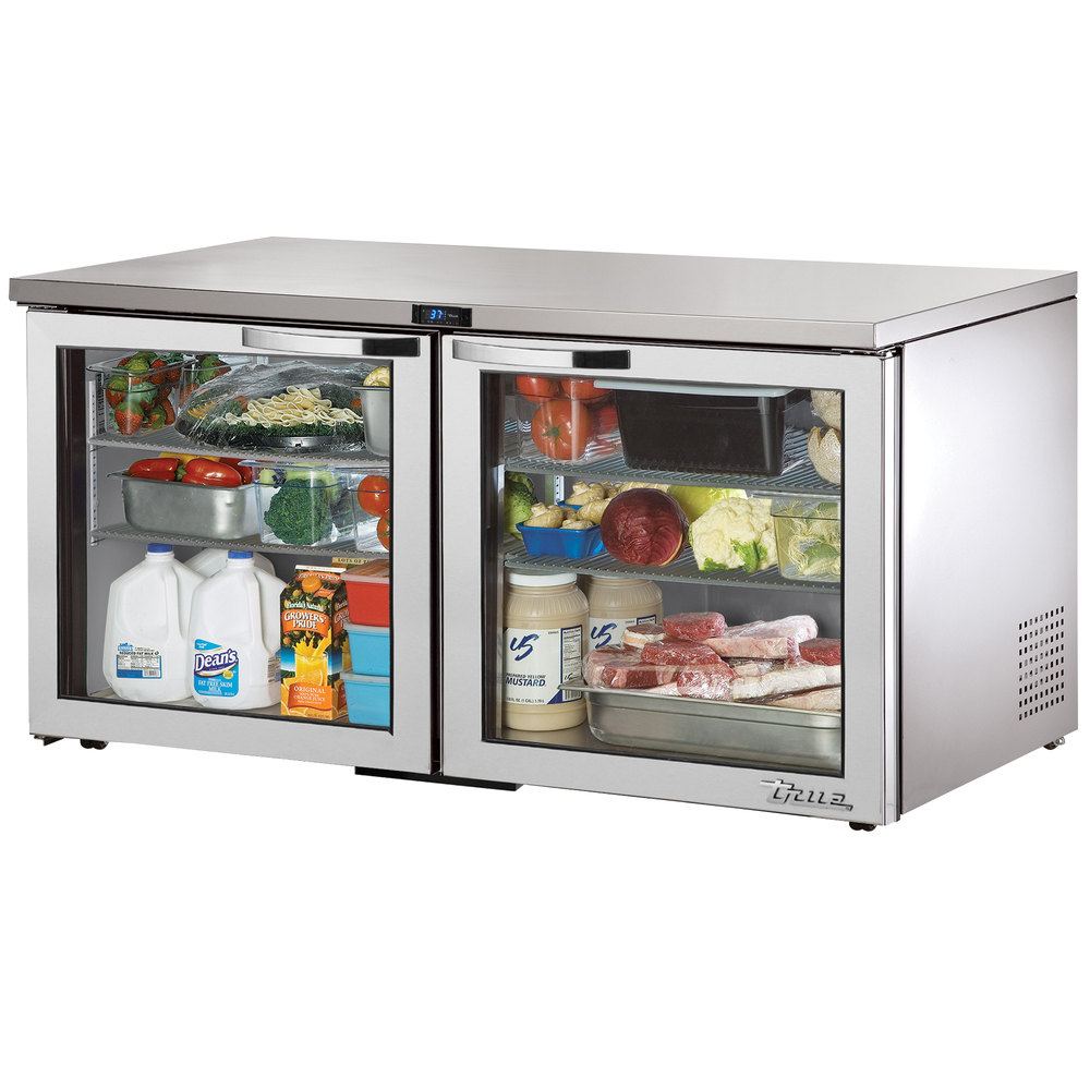 True TUC-60G-LP~SPEC1 15.5-cu ft Undercounter Refrigerator w/ (2) Sections & (2) Doors, 115v
