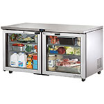 True TUC-60G-HC~SPEC1 15.5-cu ft Undercounter Refrigerator w/ (2) Sections & (2) Doors, 115v