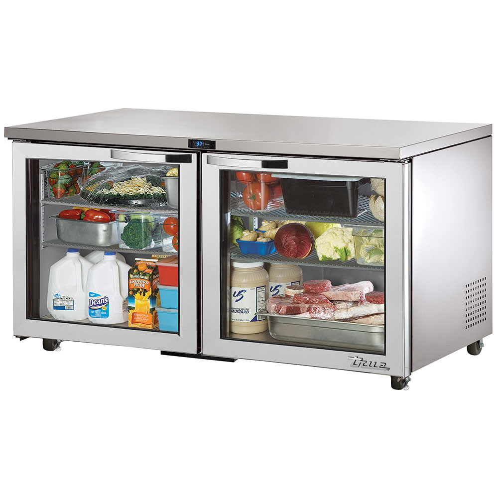 True TUC-60G~SPEC1 15.5-cu ft Undercounter Refrigerator w/ (2) Sections & (2) Doors, 115v