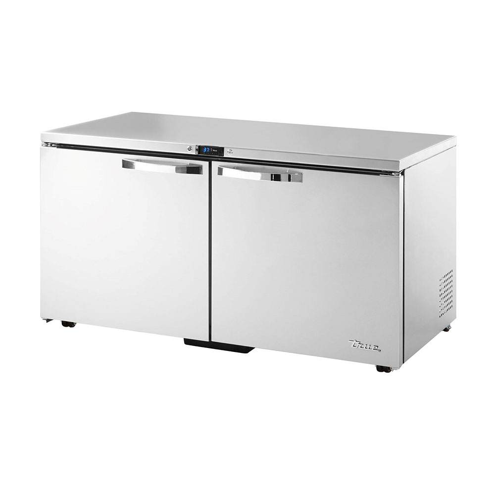 True TUC-60-LP-HC~SPEC1 15.5-cu ft Undercounter Refrigerator w/ (2) Sections & (2) Doors, 115v