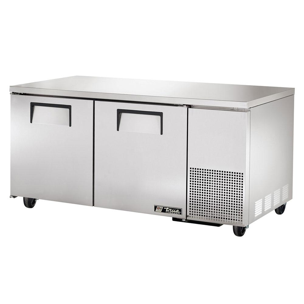 True TUC-67-HD 20.6-cu ft Undercounter Refrigerator w/ (2) Sections & (2) Doors, 115v