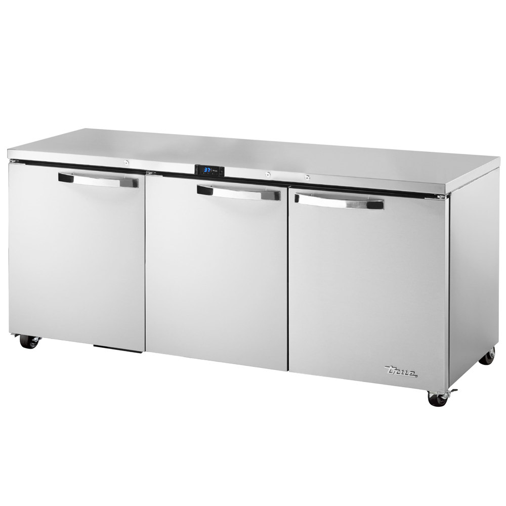 True TUC-72-ADA~SPEC1 19-cu ft Undercounter Refrigerator w/ (3) Sections & (3) Doors, 115v