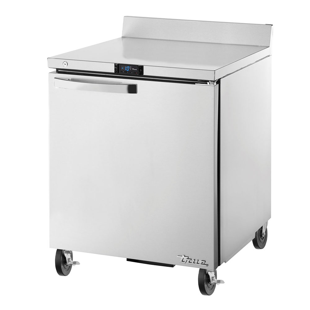 "True TWT-27F-HC~SPEC1 27"" Work Top Freezer w/ (1) Section & (1) Door, 115v"