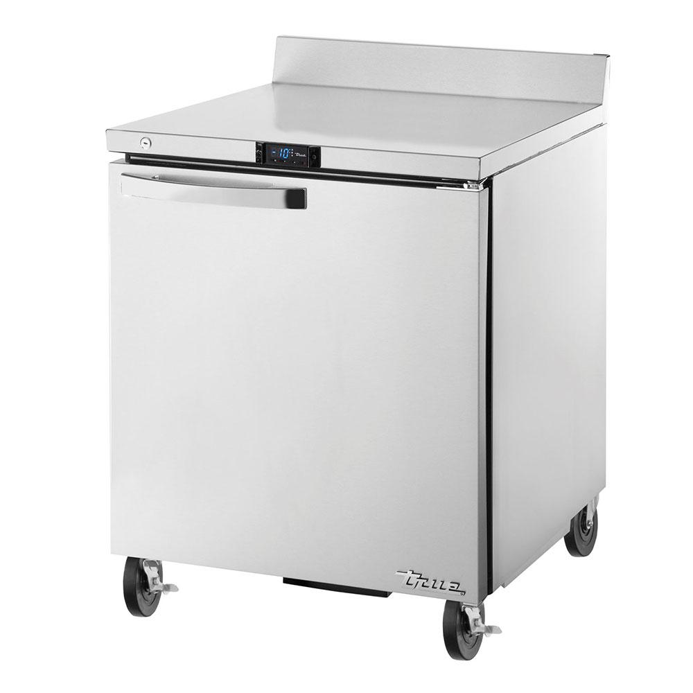 """True TWT-27F-HC~SPEC1 27"""" Work Top Freezer w/ (1) Section & (1) Door, 115v"""