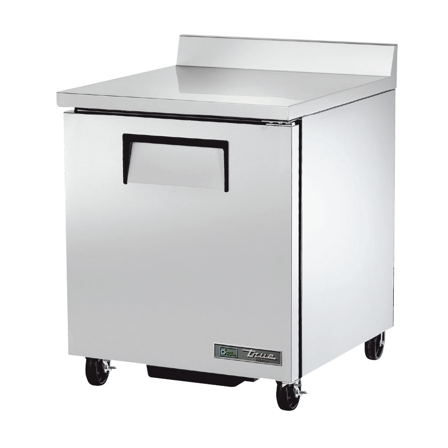 "True TWT-27F-HC 27.63"" Work Top Freezer w/ (1) Section & (1) Door, 115v"