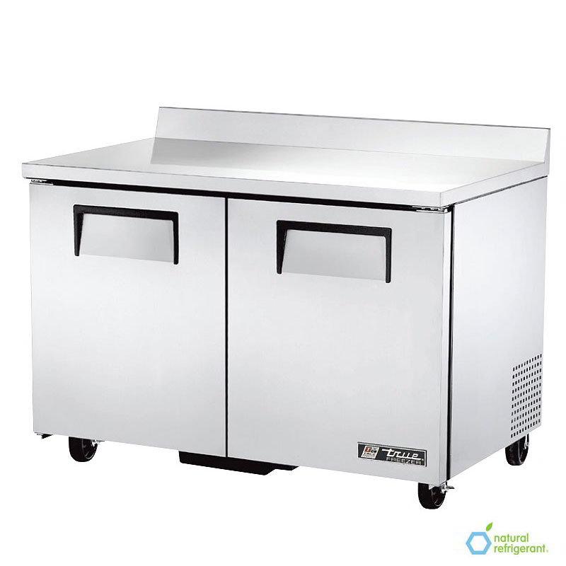True TWT-48F 12-cu ft Worktop Freezer w/ (2) Sections & (2) Doors, 115v