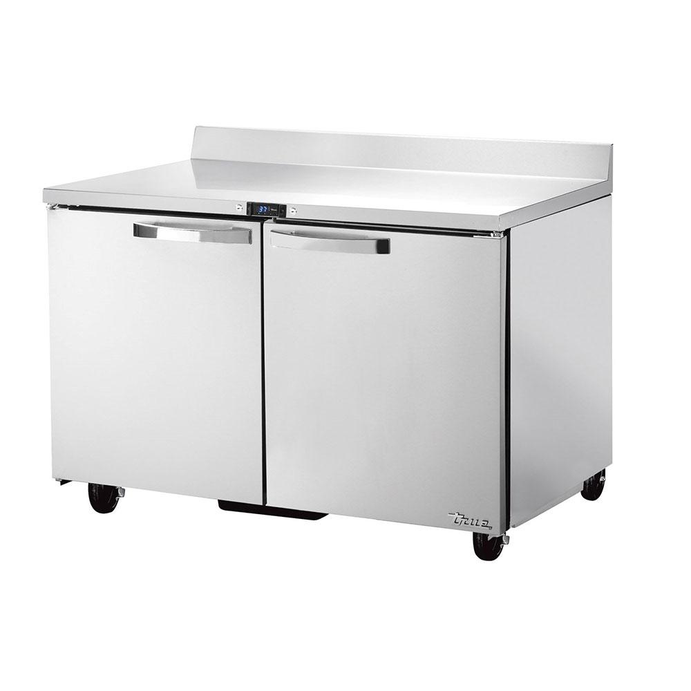 "True TWT-48-HC~SPEC1 48"" Work Top Refrigerator w/ (2) Sections & (2) Doors, 115v"