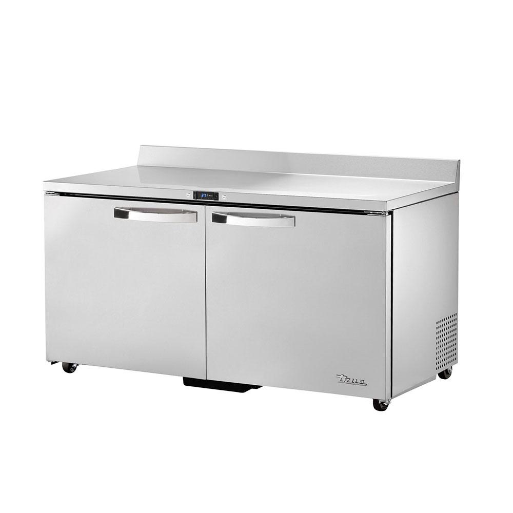 "True TWT-60-ADA-HC~SPEC1 60"" Work Top Refrigerator w/ (2) Sections & (2) Doors, 115v"