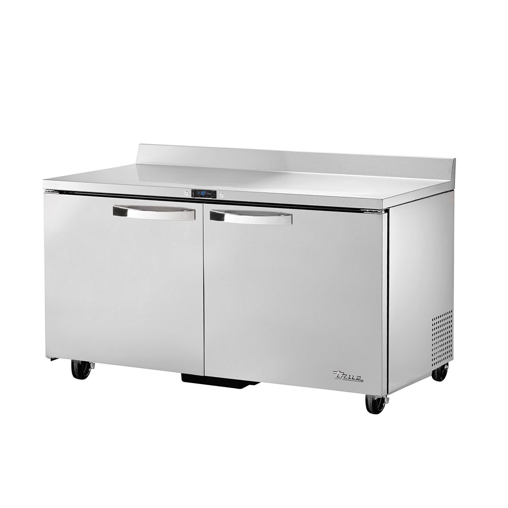 "True TWT-60F~SPEC1 60"" Work Top Freezer w/ (2) Section & (2) Doors, 115v"