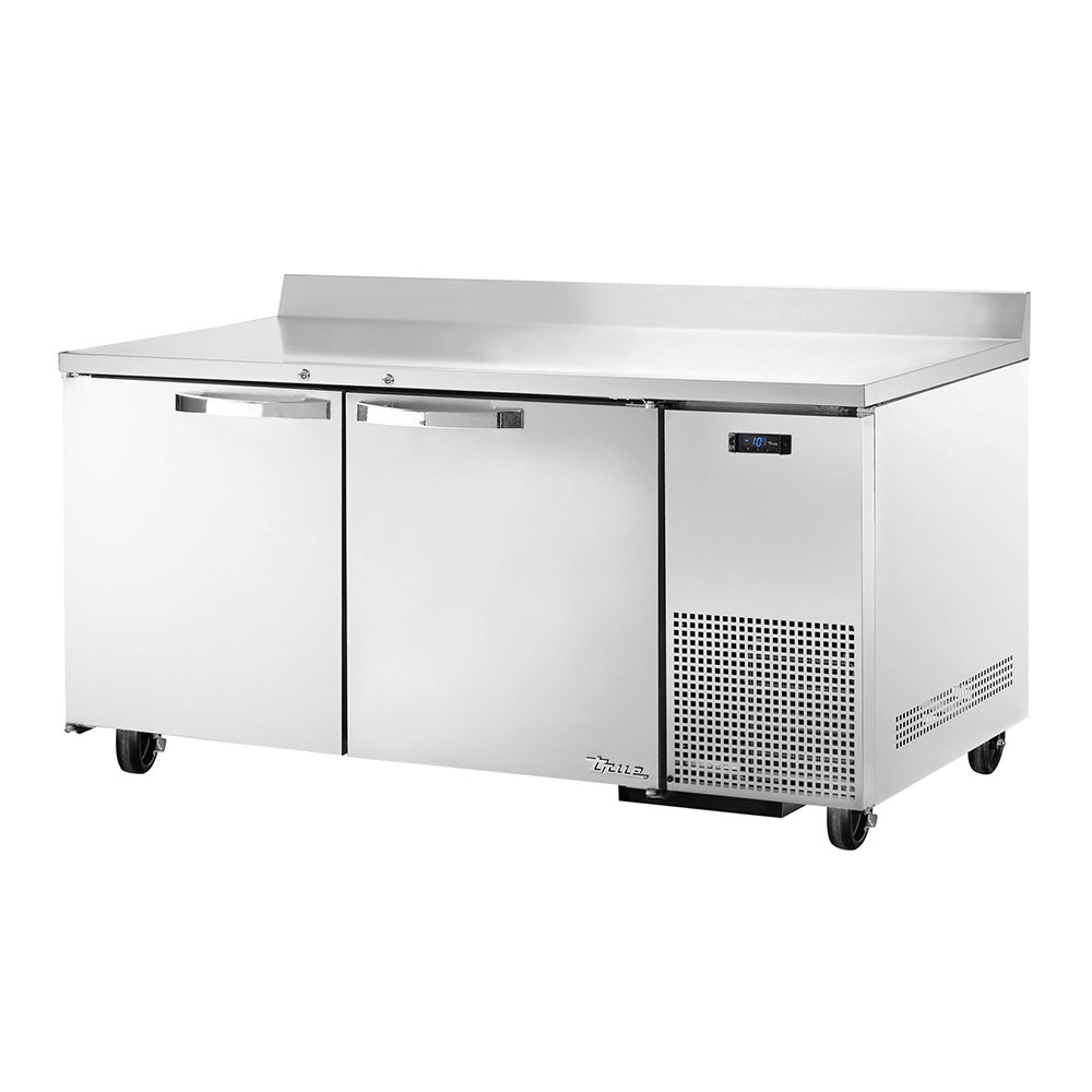 "True TWT-67F~SPEC1 67"" Work Top Freezer w/ (2) Section & (2) Doors, 115v"
