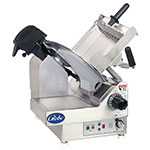 "Globe 4975N Premium Slicer - Automatic, 9-Speed, Table Lockout, 13"" Steel Alloy Knife Blade, Stainless Steel"