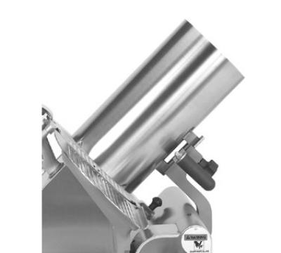 Globe 699-BAS Vegetable Hopper, Tubular Food Chute, for 3000P & 4000P Series