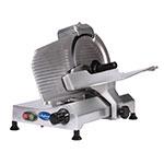 "Globe C10 10"" Manual Food Slicer w/ Knife Sharpener, Aluminum, 115v"