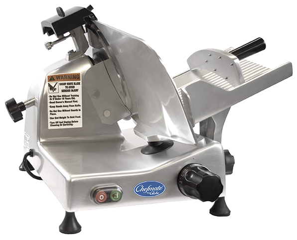 "Globe E300 115V Manual Food Slicer - 12"" Knife, 1/3 HP 115v"