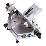 Globe G10 Medium Duty Manual Slicer, 10 in Knife, 1/3 HP, 0-9/16 in Slice