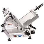 "Globe G12 12"" Manual Food Slicer w/ Knife Sharpener, Aluminum, 115v"