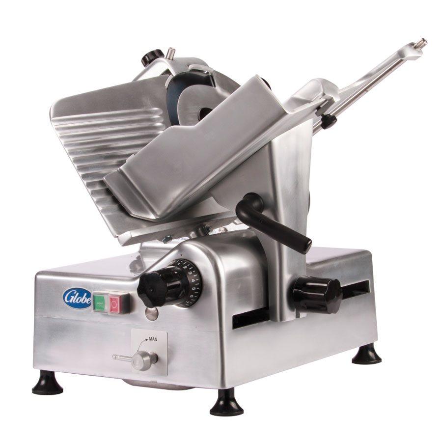 "Globe G12A 12"" Automatic Food Slicer w/ Knife Sharpener ..."
