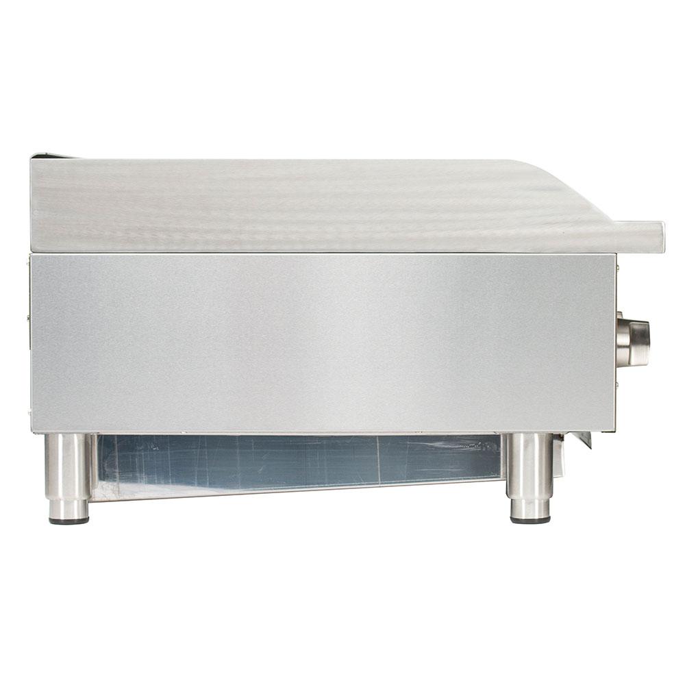 "Globe GCB36G-SR 36"" Countertop Gas Charbroiler w/ Reversible Grates, Radiant"