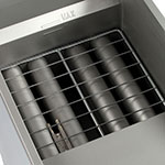 Globe GFF50G Gas Fryer - (1) 50-lb Vat, Floor Model, NG