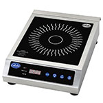 Globe GIR18 Countertop Commercial Induction Cooktop w/ (1) Burner, 120v