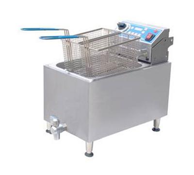 Globe GPC16 Countertop Pasta Cooker Boiler w/ 2-gal Capacity & Removable Control Box