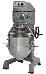 Globe SP60 208 60-qt Floor Model Planetary Mixer w/ Stainless Bowl, 3-Speed, 208/3 V