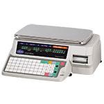 Globe GSP30A-PC Label Printing Scale, 30 lb x .01 lb Capacity, 88 Keys, 115v