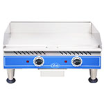 "Globe PG24E 24"" Electric Griddle - Thermostatic, 1""  Plate, 240v/1ph"