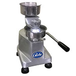 "Globe PP4 4"" Manual Hamburger Patty Press - (4-oz) Aluminum/Stainless"