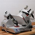 """Globe S13A Automatic Heavy Duty Slicer w/ 13"""" Knife - Aluminum, 120v"""