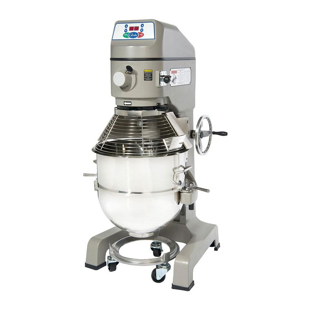 Globe SP60 208 60-qt Floor Model Planetary Mixer w/ Stainless Bowl, 3-Speed, 208/3 V