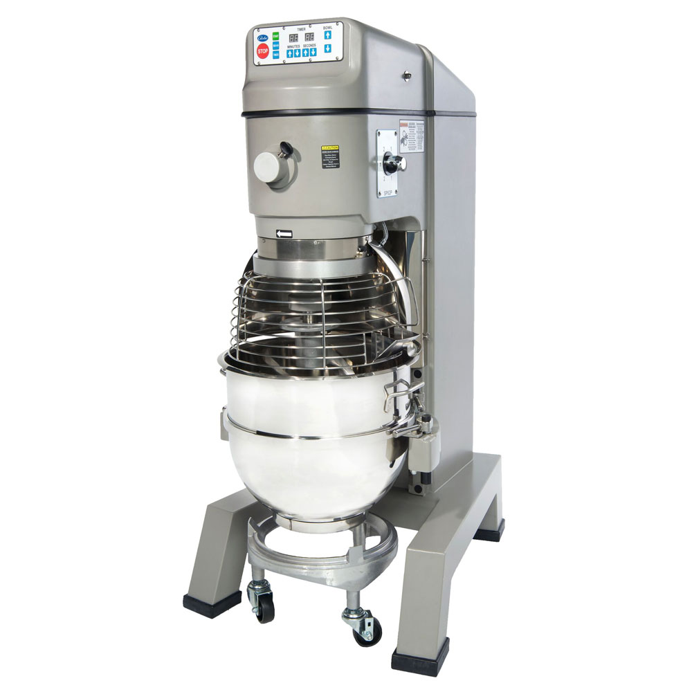 Globe SP62P Vertical Pizza Mixer, 60 qt, 2 Speed, #12 Hub, Timer, 3 HP, NSF