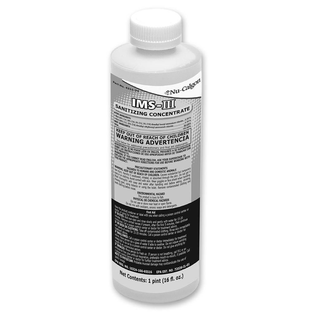 Follett 00979674 16-oz Nu-Calgon IMS-II Sanitizer
