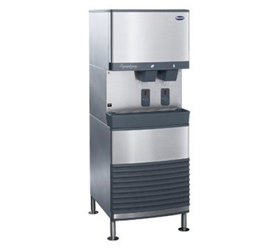 Follett 110FB425A-S Floor Model Nugget Ice Dispenser w/ 90-lb Storage - Cup Fill, 115v