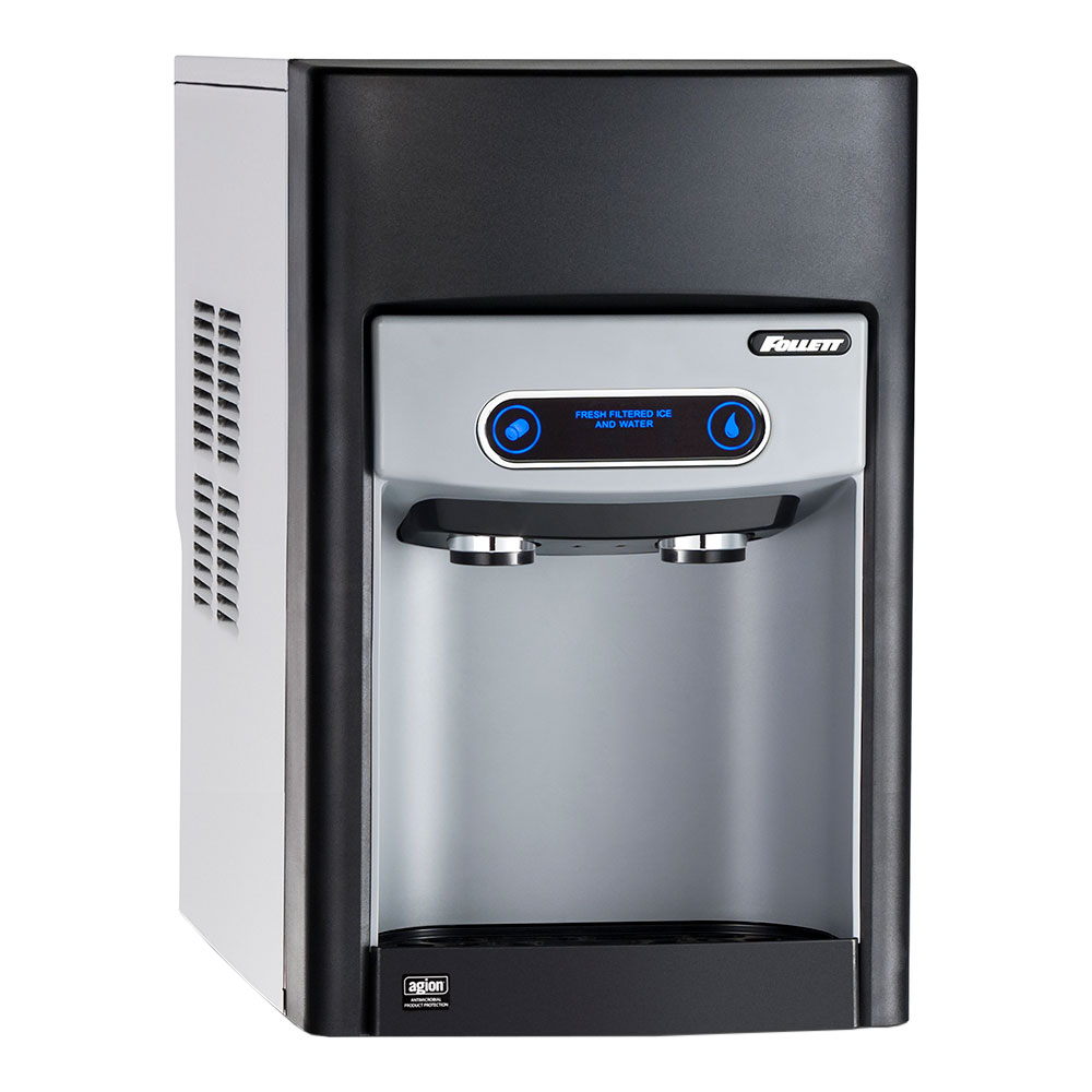 Follett 15CI100A-NW-CF-ST-00 Countertop Nugget Ice Dispenser w/ 15-lb Storage - Cup Fill, 115v