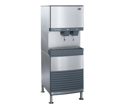 Follett 25FB425A-L 425-lb Nugget Ice & Water Dispenser w/25-lb Bin, Air Cooled, 115v