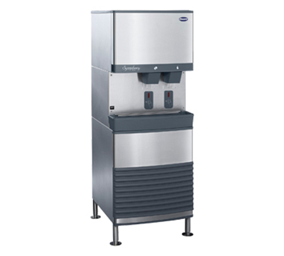 Follett 50FB425AS Floor Model Nugget Ice Dispenser w/ 50-lb Storage - Cup Fill, 115v