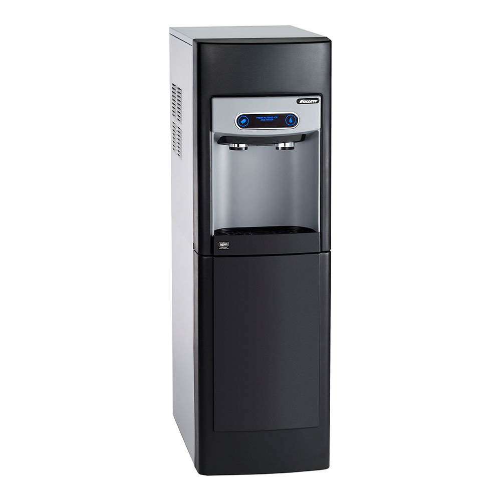 Follett 7FS100AIWCFST00 Floor Model Nugget Ice Dispenser w/ 7-lb Storage - Cup Fill, 115v