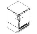FOLLETT 00158014 Omnicell Compatible Door Bracket
