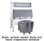 Follett DEV1010SG-48-ICS Chuted Elevated Ice-Device w/ Cambro ICS125L, 1000-lb Bin
