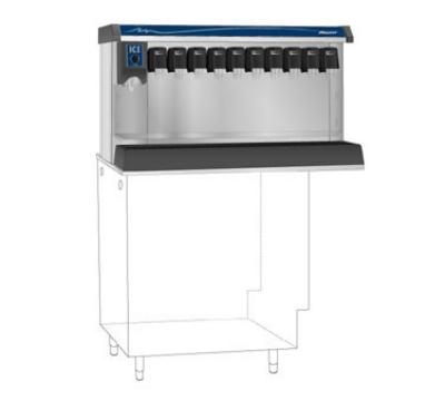 FOLLETT VU155M10RL Countertop Nugget Ice Dispenser w/ Drink Rail & 150-lb Storage - Cup Fill, 115v