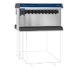 Follett VU300M20DP Countertop Nugget Ice Dispenser w/ Drink Rail & 300-lb Storage - Cup Fill, 115v