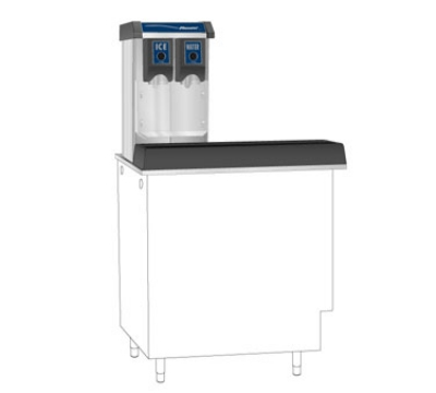 Follett VU155N0LP Floor Model Cube Ice Dispenser w/ 150-lb Storage - Cup Fill, 115v