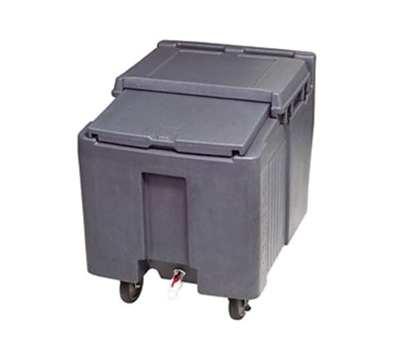 "Follett ICS125L 125-lb Ice Caddy - Sliding, Flat Top, 29.25"" H"