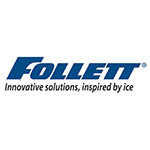 "Follett AF10LBLEGS 4"" Leg Kit for 12CI Series"