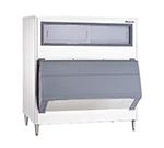 """Follett SG1350S-56 56"""" Wide 1360-lb Ice Bin with Lift Up Door"""