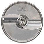 "Hobart 15SLICE-1/16-SS .06"" Fine Slicer Plate for FP150 & FP250 Food Processors Stainless"