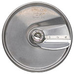 "Hobart 15SLICE-3/8-SS .37"" Fine Steel Slicer Plate for FP150 & FP250 Food Processors Stainless"